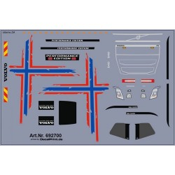"""Planche Pour Volvo FH 2013 """"Norway Edtion"""""""