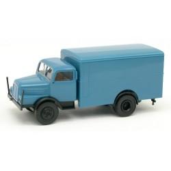Ifa S4000 camion fourgon bleu