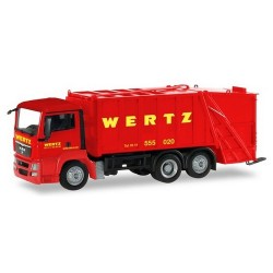 """MAN TGS M E5 camion poubelle """"Wertz"""""""