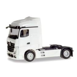 MB Actros Streamspace 2,5 Tracteur solo blanc