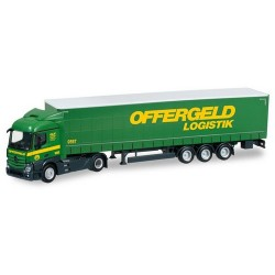 "MB Actros Streamspace 11 + semi-remorque tautliner ""Offergeld Logistik"""
