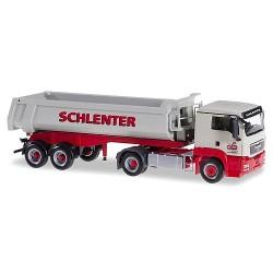 """MAN TGS L + semi-remorque benne Carnehl 2 essieux """"Schlenter"""""""