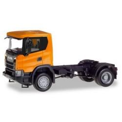 Scania CG 17 Tracteur solo 4x4 orange