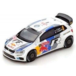 VW Polo R WRC N°8 2ème Monte Carlo 2013- S.Ogier- J. Ingrassia