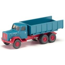 Magirus-Deutz Saturn  camion benne bleu turquoise (le dernier - épuisé chez Wiking)