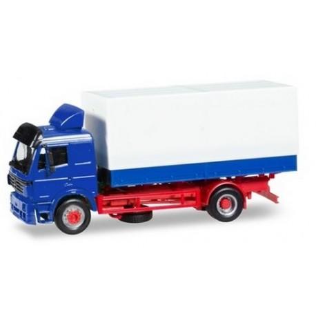 MB SK 94 camion bâché 4x2 à châssis rouge
