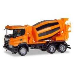 Scania CG 17 camion 6x6 toupie à béton