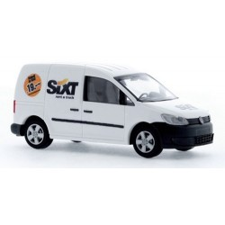 "VW Caddy '11 fourgonnette ""Sixt Rent à Truck"""