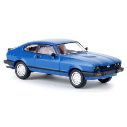 Ford Capri III (1978-1986) bleu ciel