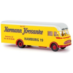 "MB LP 322 camion fourgon déménagement ""Hermann Krosnake - Hamburg"""