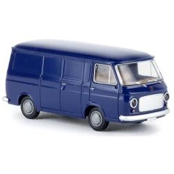Fiat 238 fourgon bleu foncé