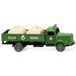 """MB L 3500 camion plateau & citernes à vin """"Keller Geister"""""""