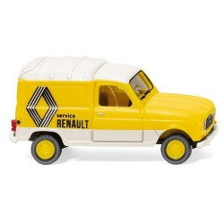 """Renault F4 fourgonnette (1961) """"Renault Service"""""""