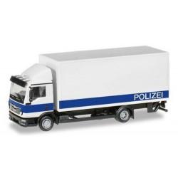 "MAN TGL camion fourgon avec hayon ""Polizei Brandenburg / Logistik"""