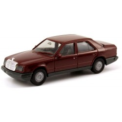 MB 300 E berline (W124 - 1984) rouge brun