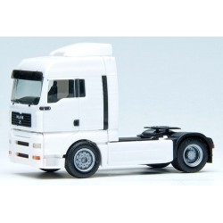 MAN TGA XLX Tracteur solo caréné blanc