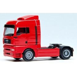 MAN TGA XLX Tracteur solo caréné rouge