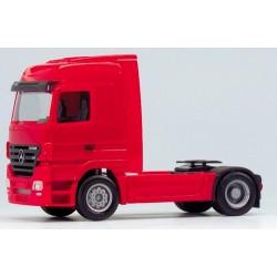 MB Actros LH 02 Tracteur solo caréné rouge
