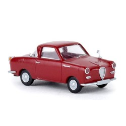 Gogomobil coupé TS 1957 rouge rubis