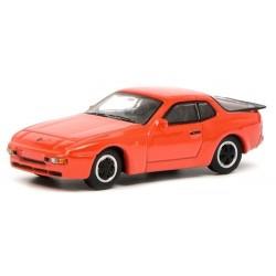 Porsche 924 coupé 1976 rouge orangé