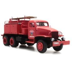 """GMC camion de pompiers feux de forêt """"Alpes-Maritimes"""" cabine tôlée"""