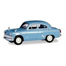 Moskwitsch 403 berline 4 portes de 1962 bleu ciel
