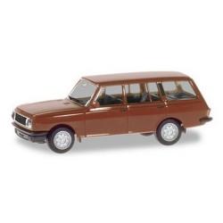 Wartburg 353 (version 1984) Tourist brun cuivré