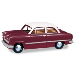Ford Taunus 12 M 2 Portes 1952 rouge vin à toit crème - série Magic