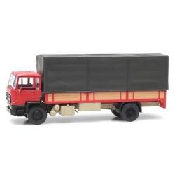 Daf F2100 (F220 - 1976) camion bâché rouge
