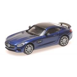 MB AMG GTS 2015 coupé bleu métallisé