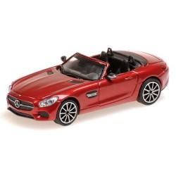 MB AMG GT raodster 2015 rouge métallisé