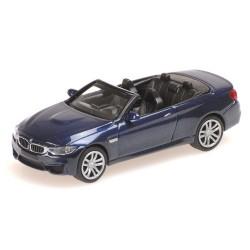 BMW M4 cabriolet 2015 bleu foncé métallisé