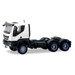 Iveco Trakker Tracteur solo 6x6 blanc