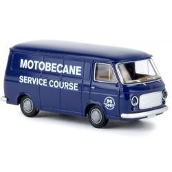 """Fiat 238 camionnette """"Motobécane Service Course"""""""