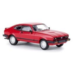 Ford Capri III (1978-1986) rouge