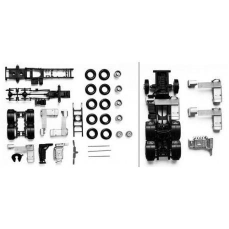Set de 2 châssis de tracteur MAN TGS/TGX 6x4 (3 essieux)