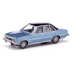 Opel Commodore B berline (1972) bleu laser métallisé
