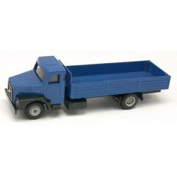 Volvo N10 camion plateau à ridelles basses bleu