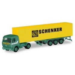 "MB S + semi-remorque fourgon ""Schenker"""