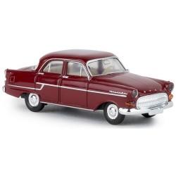 Opel Kapitän berline 1956 rouge bordeaux