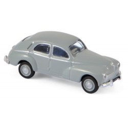 Peugeot 203 berline 1955 gris clair