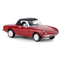Alfa Romeo Spider Duetto 1969 (coda tronca) cabriolet fermé rouge