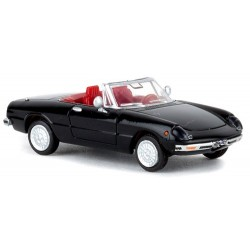 Alfa Romeo Spider (Duetto) - osso di seppia (1966) - noir