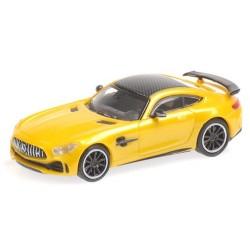 MB AMG GT R 2017 coupé jaune métallisé