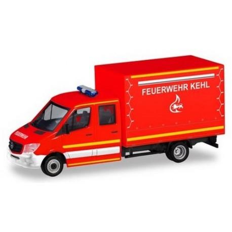 "MB Sprinter pick-up bâché cabine double ""Feuerwehr Kehl"""