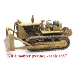 Bulldozer D7 (kit à monter en résine)