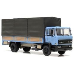 Daf F2100 (F220 - 1976) camion bâché (cabine bleue)
