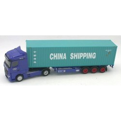 """MB Actros Streamspace '11 """"CTD"""" + semi-rqe Pte cont. 40' China S"""