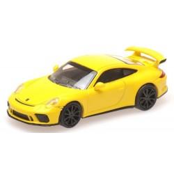 Porsche 911 GT3 (2017) jaune vif