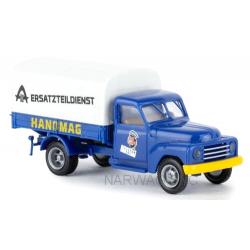 """Hanomag L28 plateau bâché """"Hanomag Ersatzteildienst"""" (Service après-vente)"""